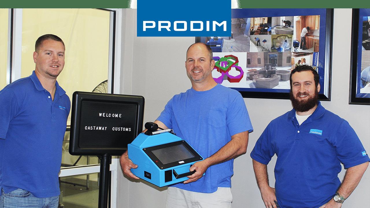 Prodim Proliner, utente Castaway Customs