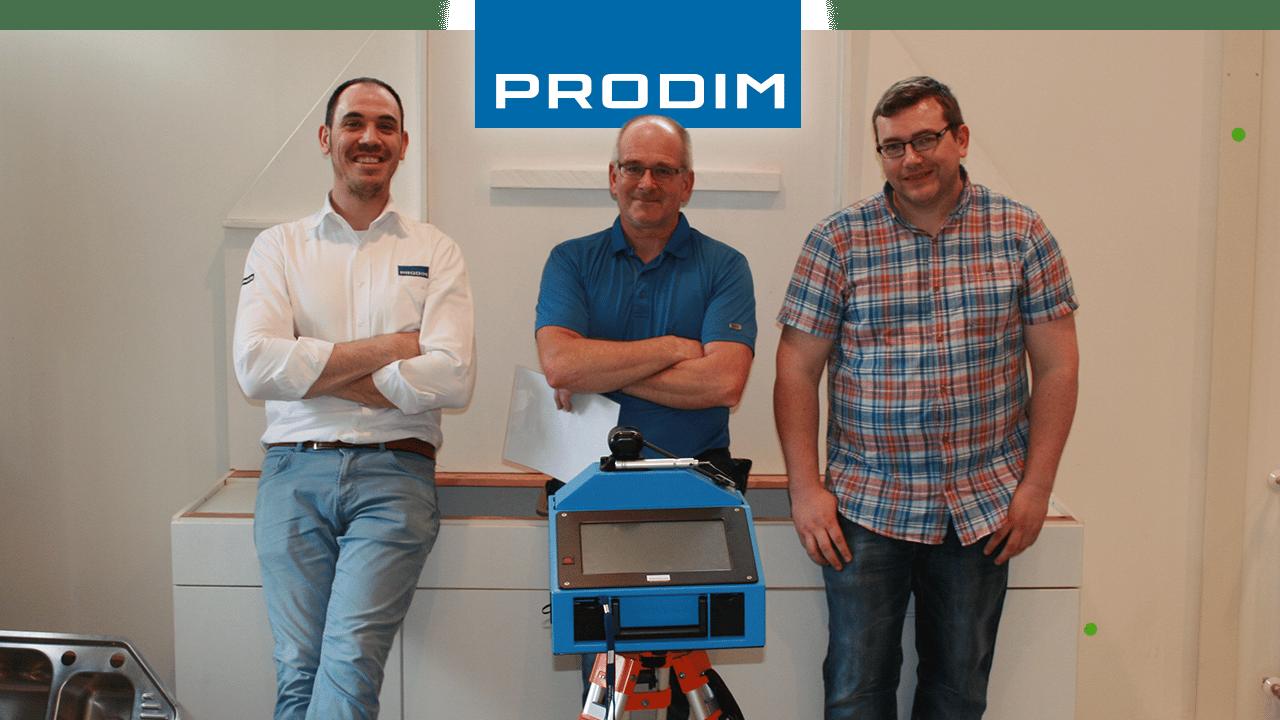 Prodim Proliner, utente Egan Stonework