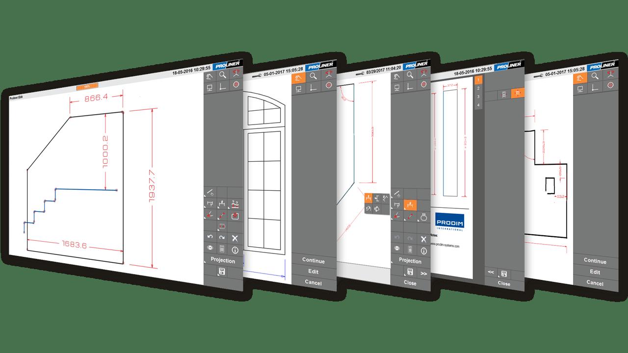 Screenshots - programma Glass CT (settore vetro)