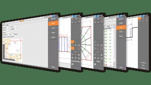 Screenshot - Prodim Proliner, programma Stairs (scale)