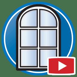 Pulsante per guardare filmati del Proliner impegnato a misurare finestre ed altre aperture