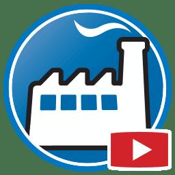 Pulsante per guardare filmati del programma gestionale Prodim Factory