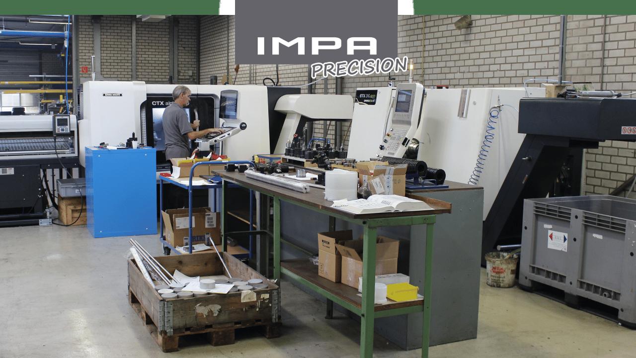 IMPA PRECISION – Macchinari di tornitura con utensili motorizzati