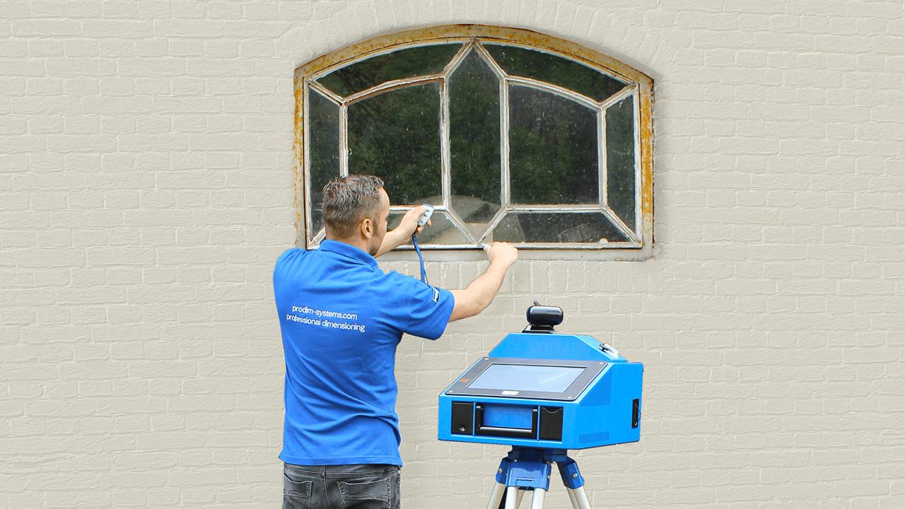 Prodim, soluzioni tecniche per l'industria Porte e Finestre – Misurazione finestre