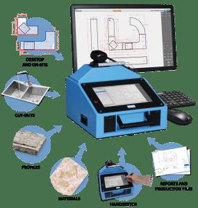 Prodim Proliner, programma CT: modifica e finalizza la misurazione, anche direttamente sul posto