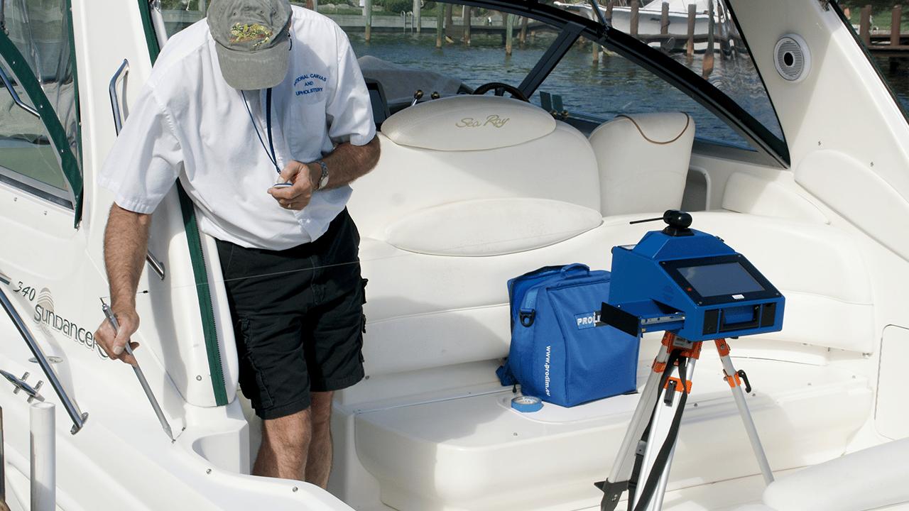 Prodim Proliner IPT – tecnologia utilizzata nel settore nautico per registrare punti altrimenti irraggiungibili