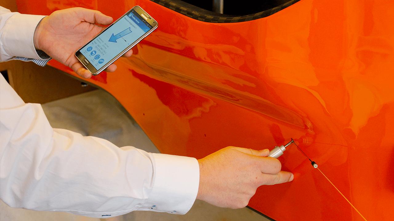 Prodim Proliner IS Survey – Controllo e guida su punti di marcatura, con estrema precision