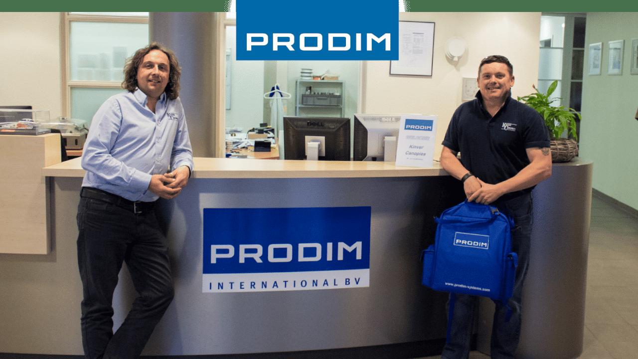 Prodim Proliner, utente Kinver Canopies