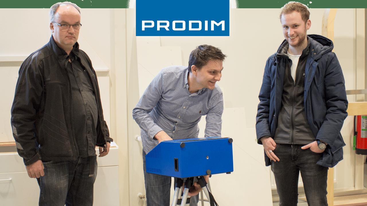 Prodim Proliner, utente Visser Spiegels & Glas