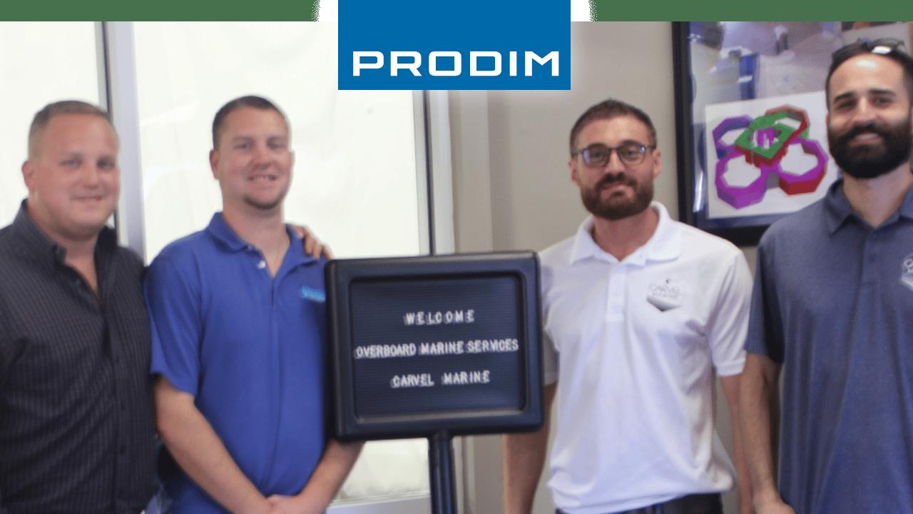 Prodim Proliner, utente Carvel Marine