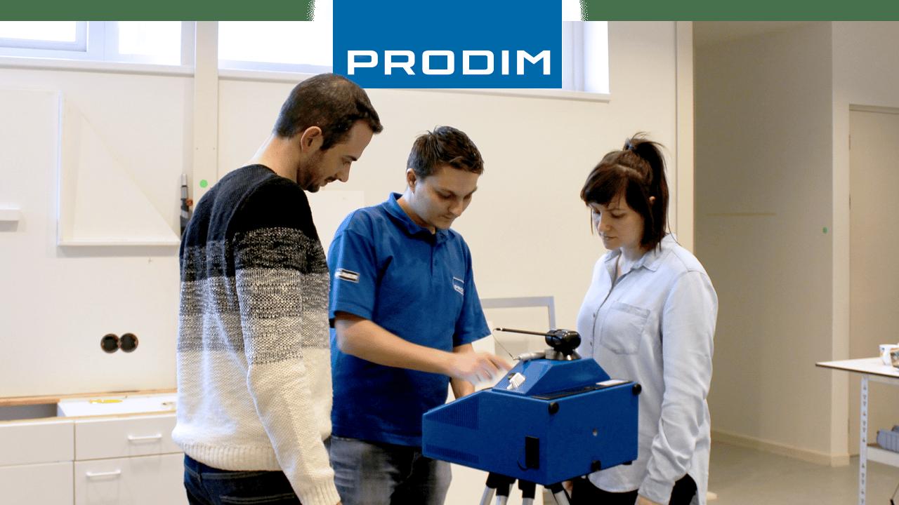 Prodim Proliner, utente Mega Marble & Mega Glass