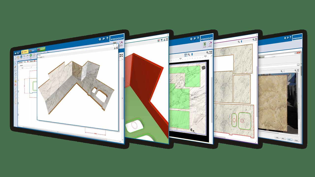Software Prodim Factory - Settore del pietra