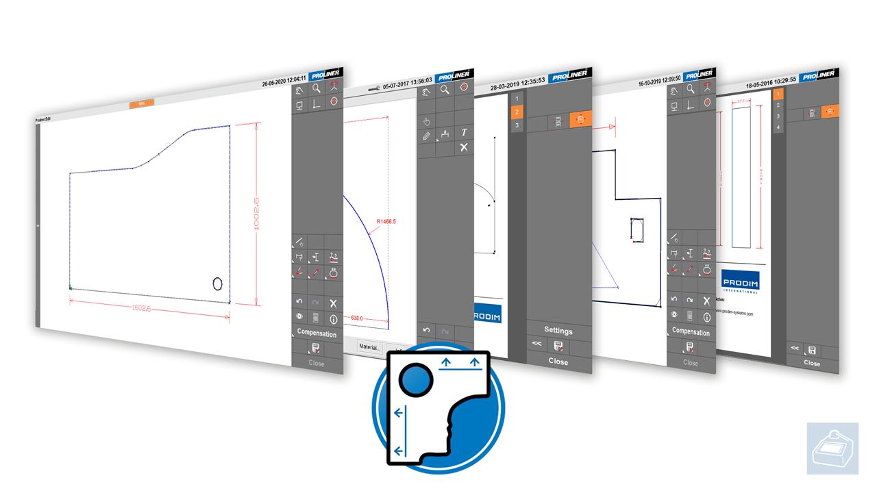 Software Proliner - Template app