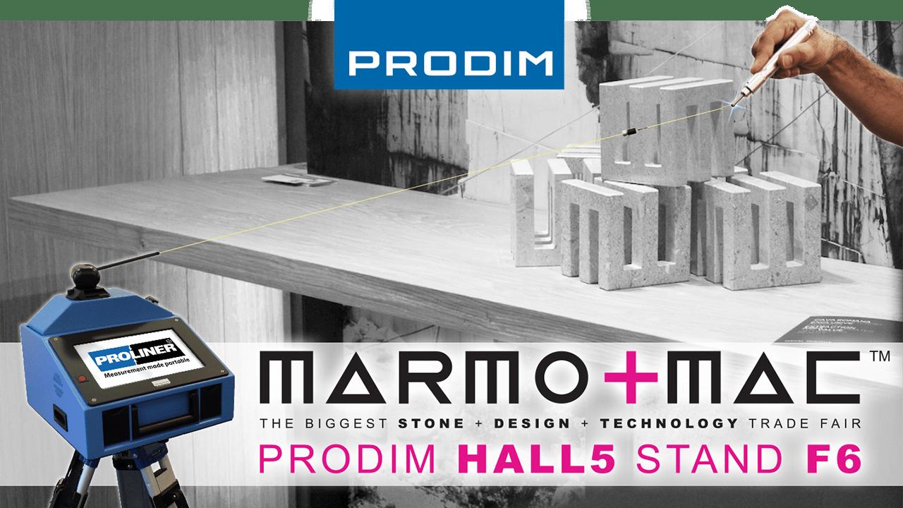 Visita Prodim a Marmomac 2018 in Verona (IT) - Hall 5 - Stand F6