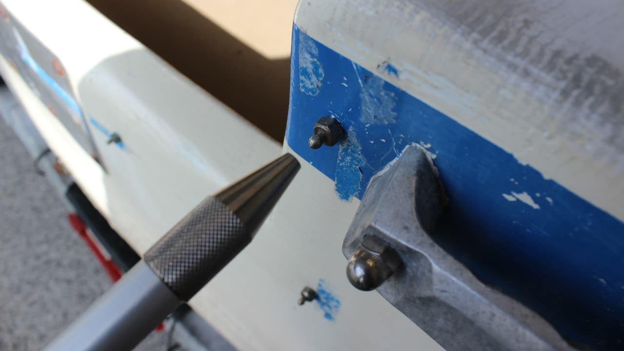 Proliner IPT - Hole Pen - Terminale CONCAVO, per bulloneria e punti di fissaggio