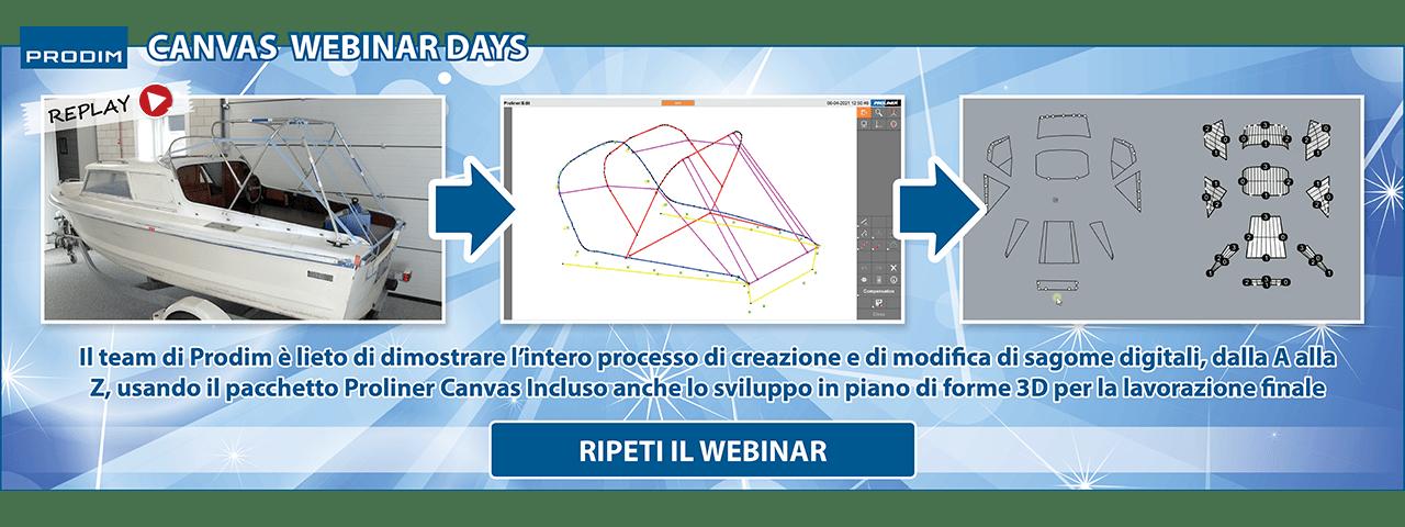 Slider - Prodim Canvas Webinar Days - Maggio 2021 - Ripeti il webinar