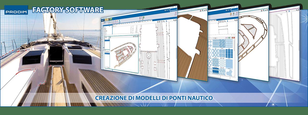 Slider - Prodim Factory - Creazione Di Modelli Di Ponti Nautico